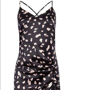 Floral Strappy Midi Dress
